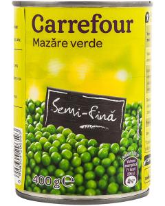 Mazare verde Carrefour 400g