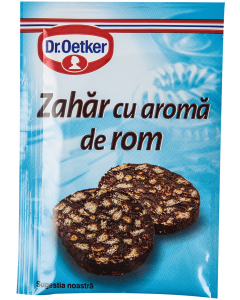 Zahar cu aroma de rom Dr. Oetker 8 g