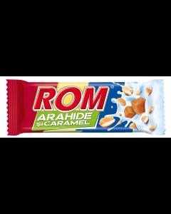Baton cu arahide si caramel Rom 29g