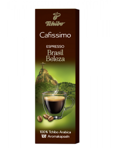 Capsule de cafea Cafissimo Espresso Brazil Beleza Tchibo 80g