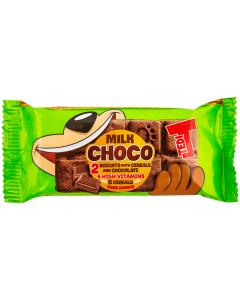 Biscuiti cu cereale si ciocolata Tedi 34g