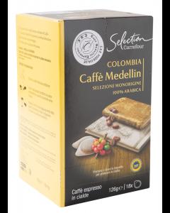 Cafea pur arabica columbia Carrefour 18x6.9g