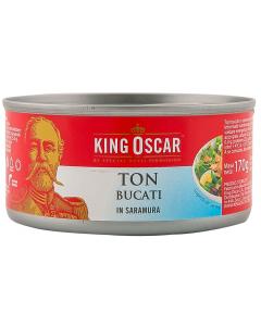 Ton bucati in saramura King Oscar 170g
