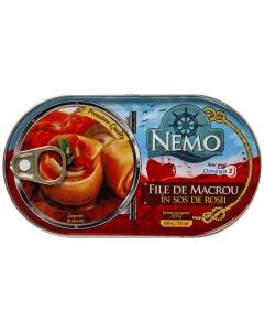 File de macrou in sos de rosii Nemo 170g