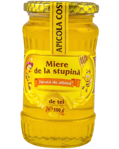 Miere de la stupina de tei Apicola Costache 500g