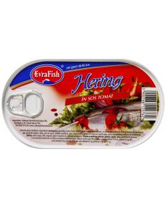 Hering in sos tomat Evra Fish 170g