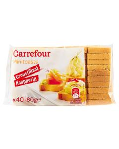Mini toast Carrefour 80g