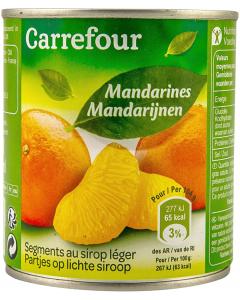 Compot de mandarine Carrefour 312g