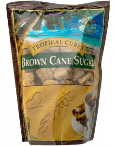 Zahar brun cubic Tropical 300g