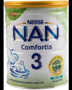Lapte praf premium pentru copii mici Nan Comfortis 3 Nestle