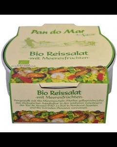 Salata de orez cu fructe de mare bio  270g Pan do Mar
