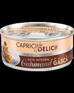 Pate integral de gasca Capricii si Delicii Gurmand 115g