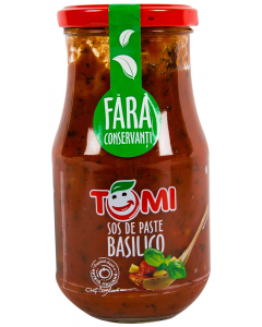 Sos de paste basilico Tomi 400g