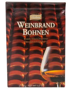 Praline de ciocolata cu (30%) umplutura de coniac Bohme 50g