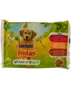 Mix hrana caini adulti Friskies Purina 4x100g