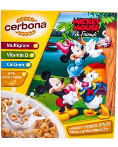 Inele de cereale cu miere Disney Cerbona 225g