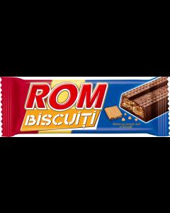 Baton cu crema de rom si biscuiti Rom 29g