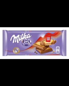 Ciocolata cu biscuiti Milka Lu 87g