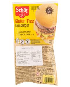 Hamburger fara gluten Schar 4x75g