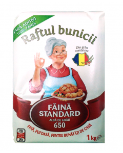 Faina alba standard 650 Raftul Bunicii 1kg