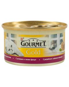 Hrana pisici cu miel si fasole verde Purina Gourmet Gold 85G