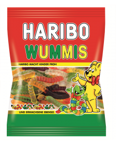 Jeleuri gumate cu aroma de fructe Haribo Wummis 100g