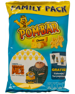 Chips cu cascaval Pom-Bar 65g