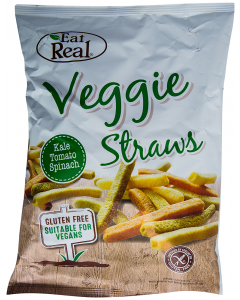Snack Veggie Straws Eat Real 113g