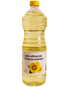 Ulei rafinat de floarea soarelui 1L