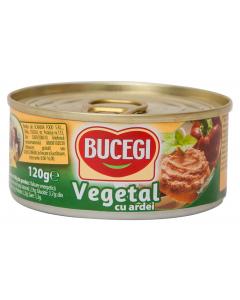 Pate vegetal cu ardei Bucegi 120g