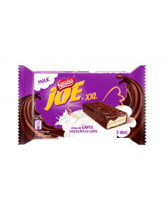 Napolitane cu crema lapte si ciocolata XXL Joe 46G