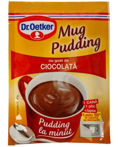 Mug pudding ciocolata Dr Oetker 34g