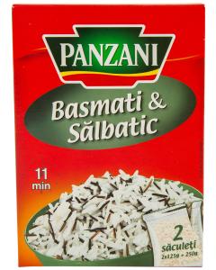 Orez basmati&salbatic Panzani 250G