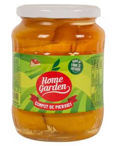 Compot de piersici Home Garden 720ml