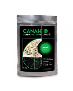 Seminte bio de canepa decorticate Canah 100g