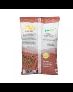Cereale Musli Crocante cu Cacao 500g Sanovita