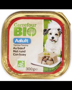 Pate cu vita pentru caini Carrefour Bio 300g