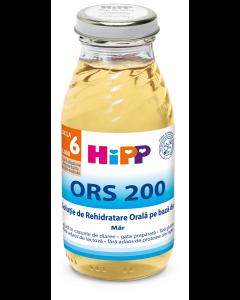 Solutie rehidratare orala pe baza de mar Hipp 200ml