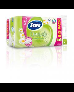 Hartie igienica Zewa Deluxe Camomile comfort, 3 straturi, 16 role