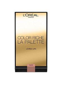 Paleta 6 rujuri L'Oreal Paris Color Riche Lip Palette Nude