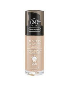 Fond De Ten Revlon Colorstay Oily Skin Cu Pompita - 200 Nude, 30ml Nude