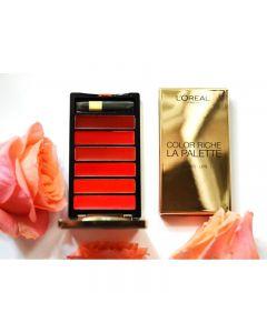 Paleta L'oreal Color Riche La Palette Lips, Rouge
