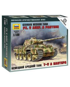 1:100 P.KPFW.V PANTHER AUSF.A 1:100