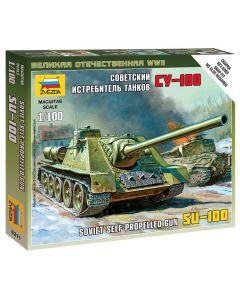 1:100 SELF-PROP.GUN SU-100 1:100