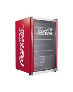 Mini Frigider Husky Highcube HUS-HC 166 Coca-Cola, Capacitate 115 L, Clasa A+, H 83,5 cm, Rosu