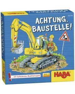 Joc de cooperare, Haba, Atentie! In constructie!, 5ani+