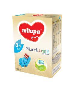 Lapte praf Milupa Milumil Junior 3+, 600g, 3ani+