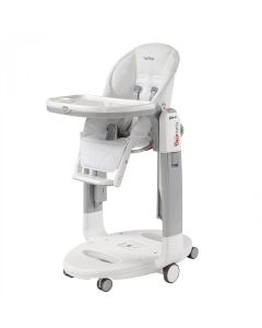 Scaun De Masa Tatamia Follow Me, Peg Perego, 3 in 1, Latte
