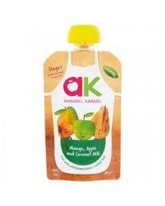 Piure organic de mango, mere si lapte de cocos, 6luni+, 100g