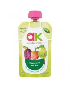 Piure organic de prune uscate, mere si pere, 6luni+, 100g